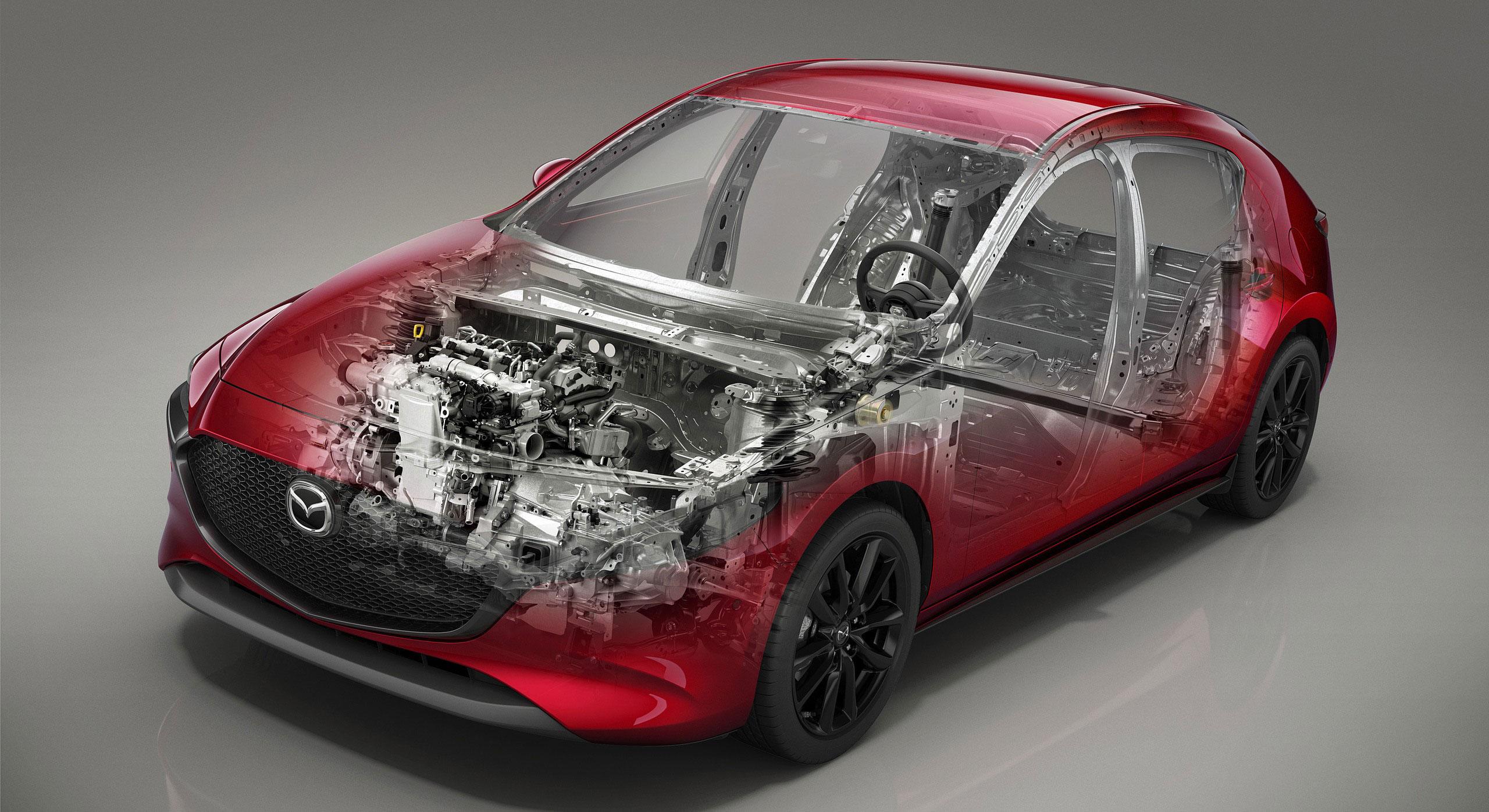 Mazda3 cutaway drawing