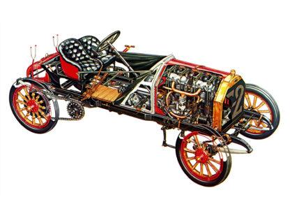 Fiat Typ 130 HP Grand Prix Corsa 1907