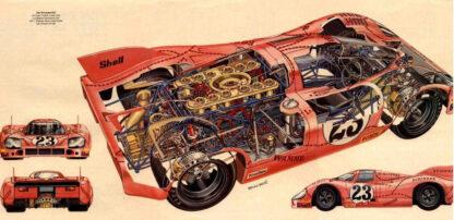 Porsche 917 Racing car