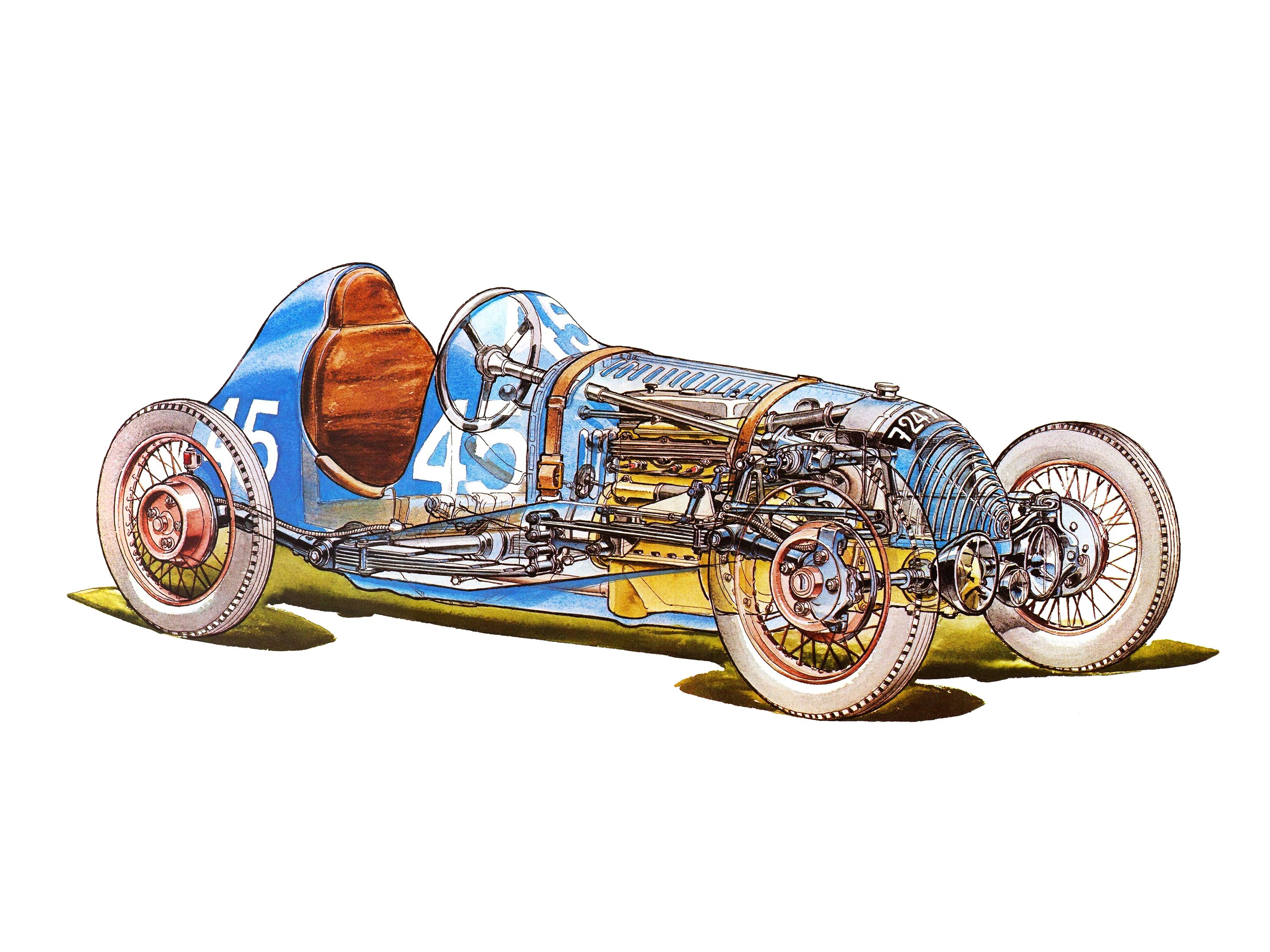 Chevallier 1100 cutaway drawing