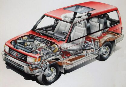 Mitsubishi Pajero Wagon 1991