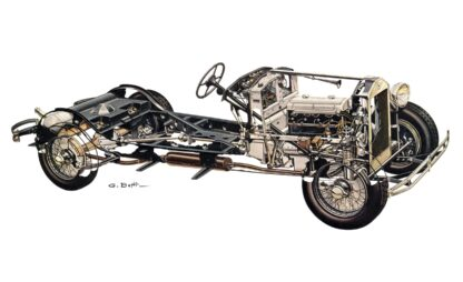 Lancia Dilambda Chassis