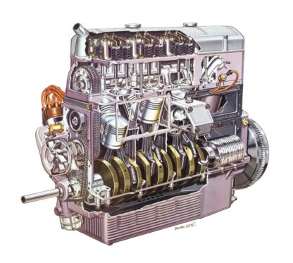 Lancia Dilambda Engine