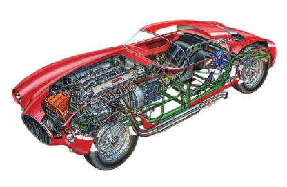 Maserati A6GCS/53 Berlinetta 1953