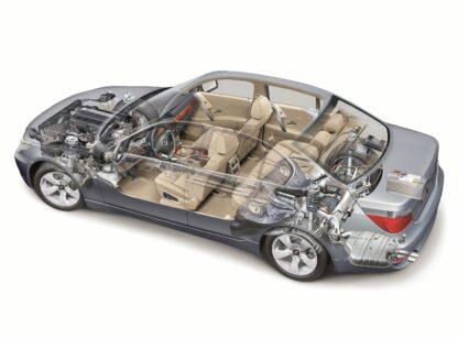 BMW 5 Series (E60) 2003