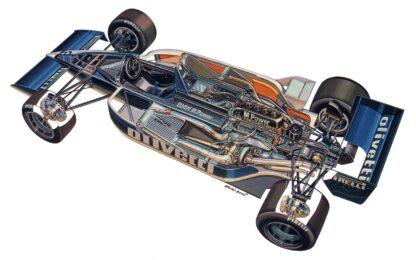 Brabham BT55 1986
