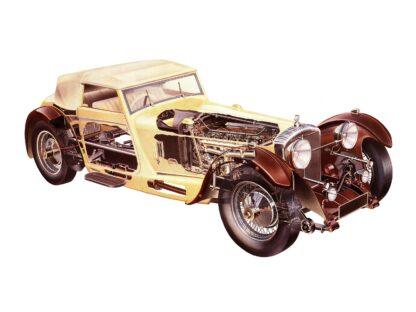 Daimler double-six (Corsica) 1933