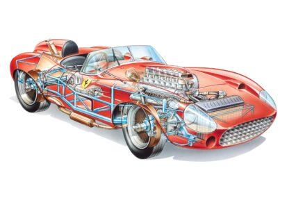 Ferrari 315 S Spyder 1957