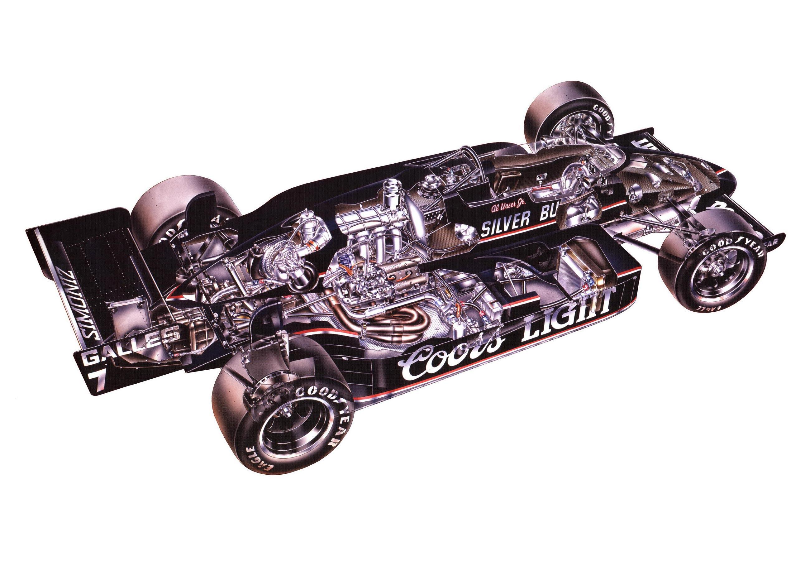 March 84C cutaway drawing