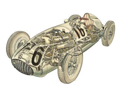 Mercedes-Benz Formula Racing Car (W165) 1939