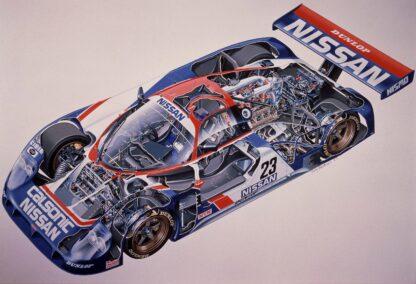 Nissan R89C 1989
