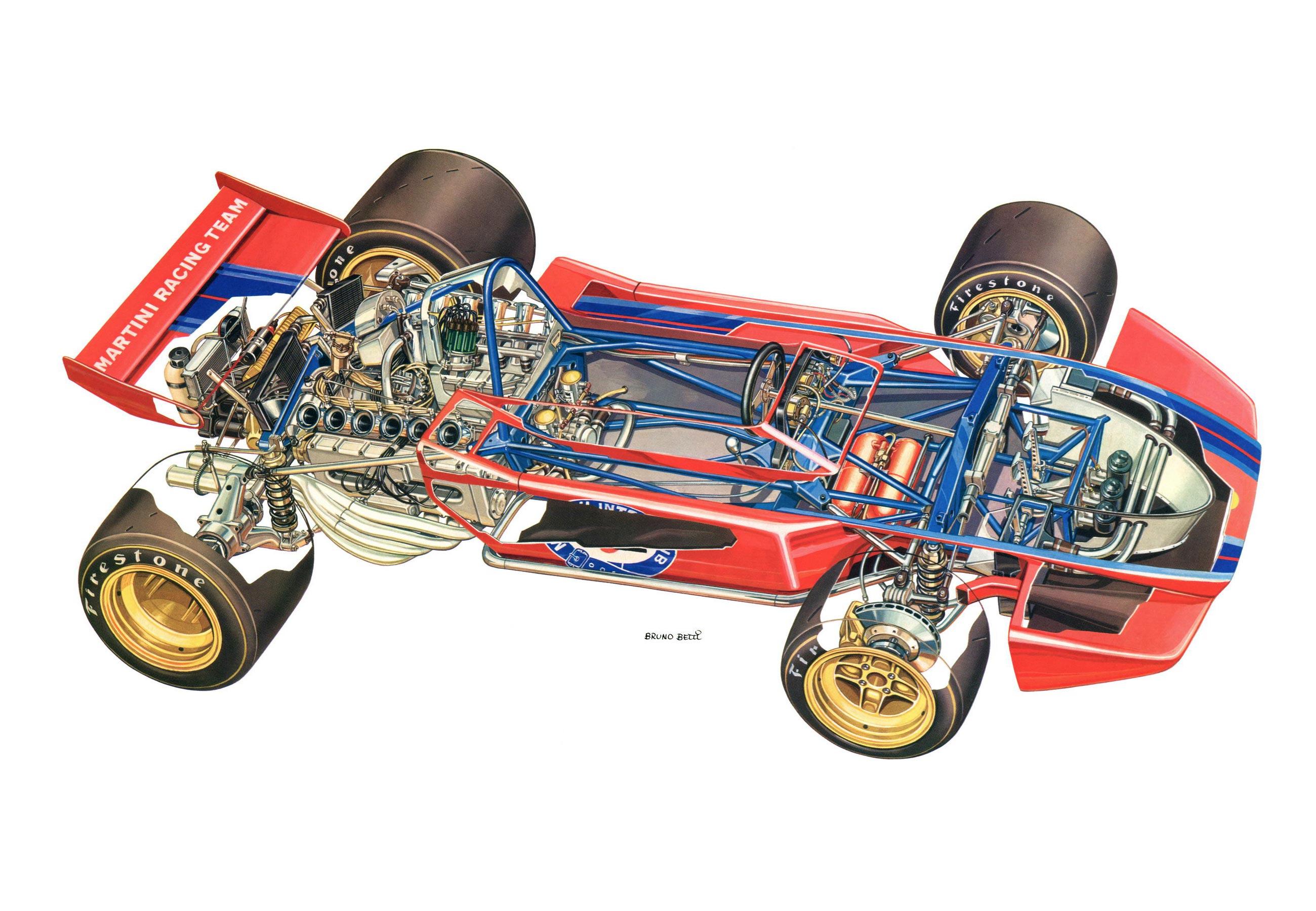 Tecno PA123 cutaway drawing