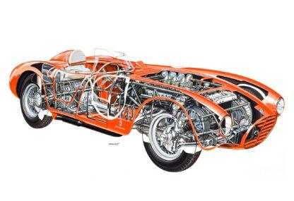 Lancia D24 Spider Sport 1953