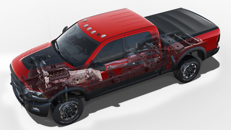 Ram 2500 Pickup cutaway drawing